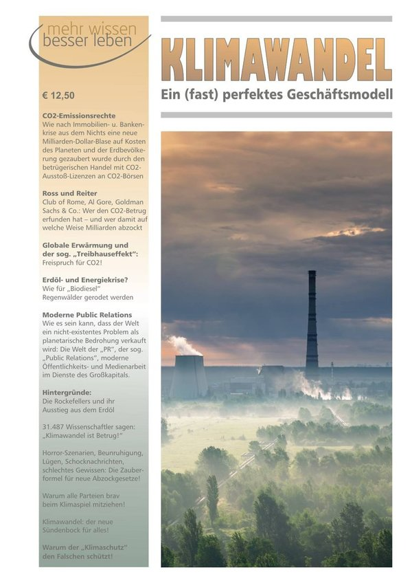 Themenheft Klimawandel